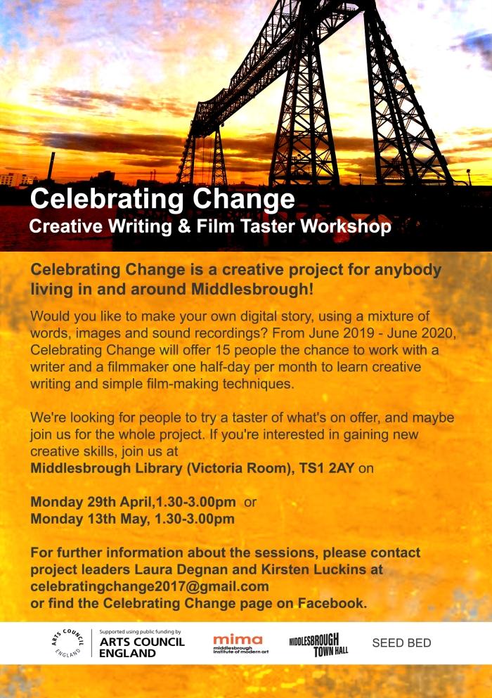2019 Celebrating Change flyer front 4A